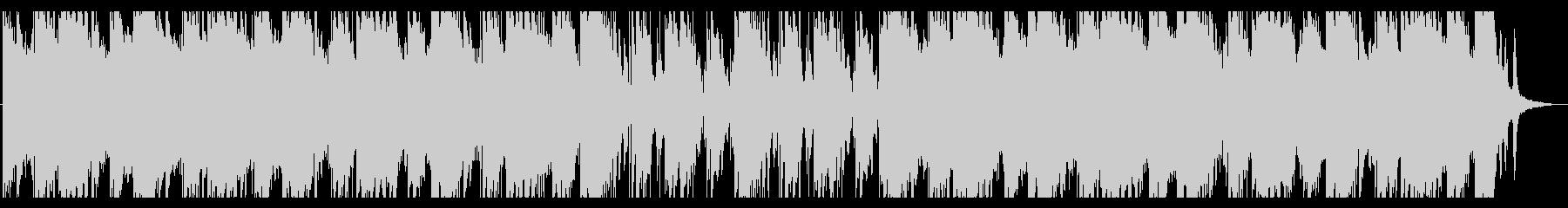 抗えない力に立ち向かうBGMの未再生の波形