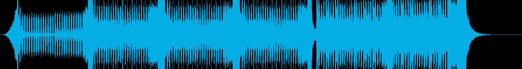 トランス・ハウス系BGM 予告編にの再生済みの波形