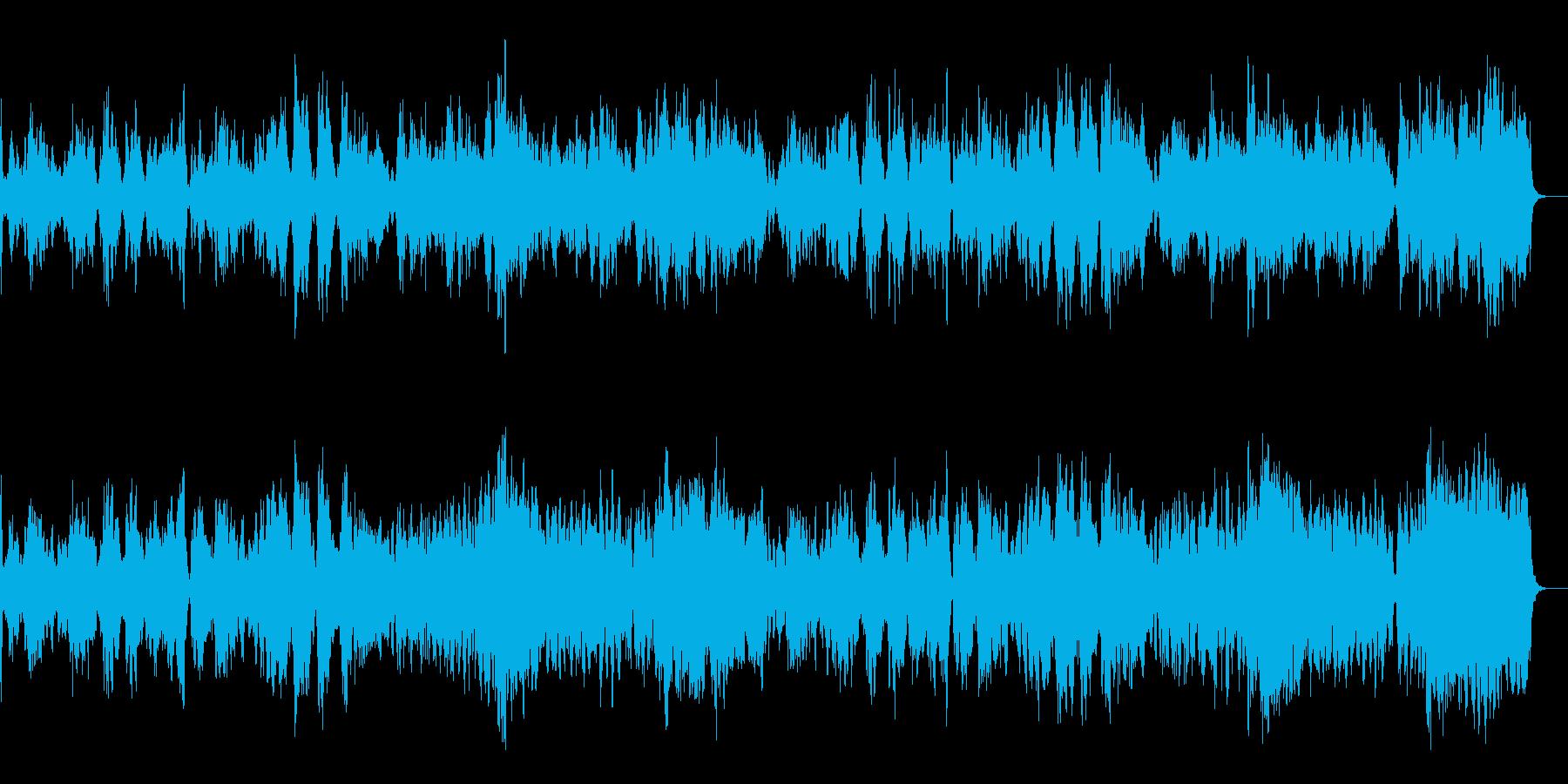 優しい雰囲気のヴァイオリン(生)曲の再生済みの波形