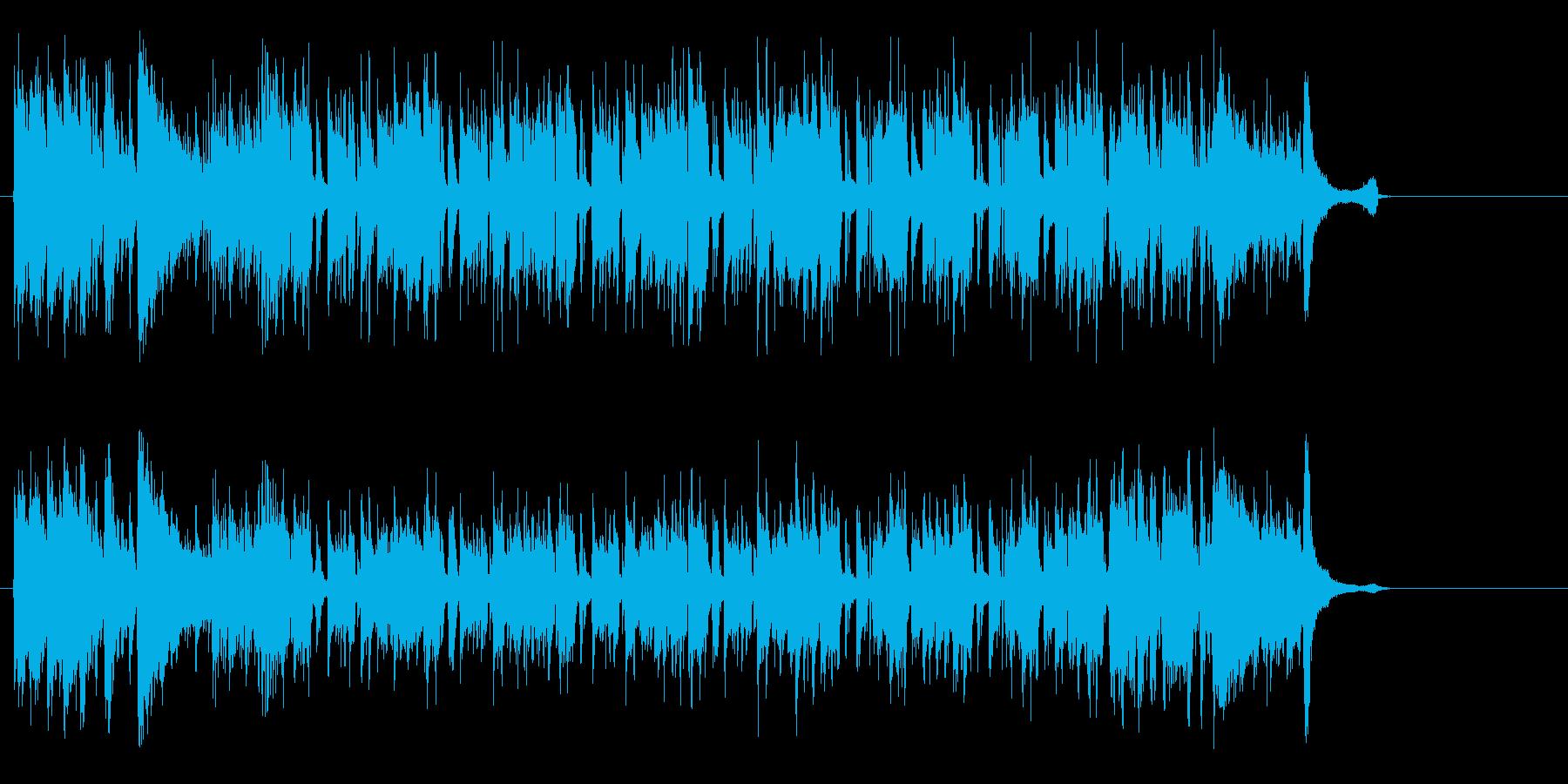 クールに合うフュージョンの再生済みの波形