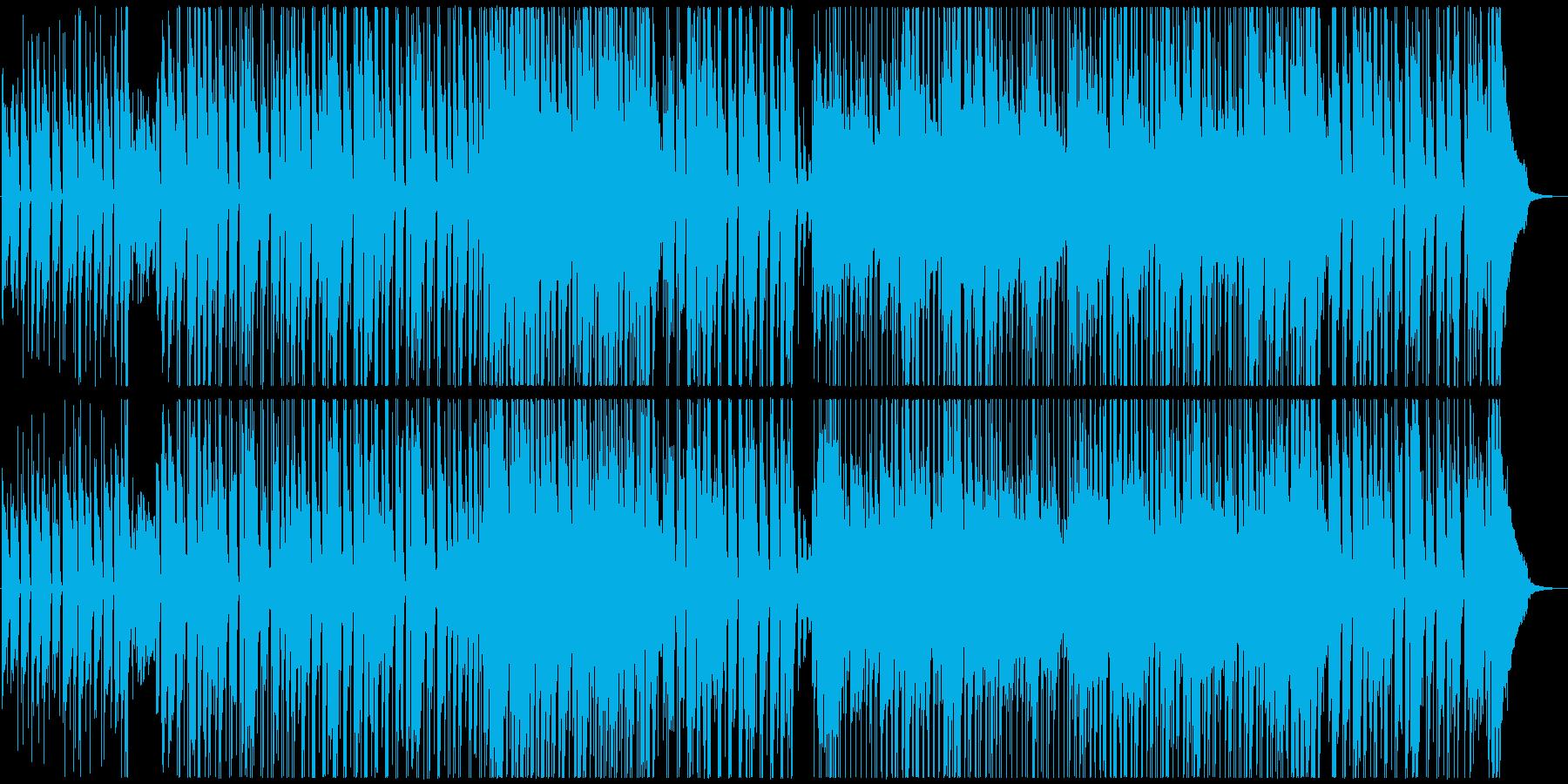 セクシーな大人のお洒落ジャズ(ソロ有り)の再生済みの波形