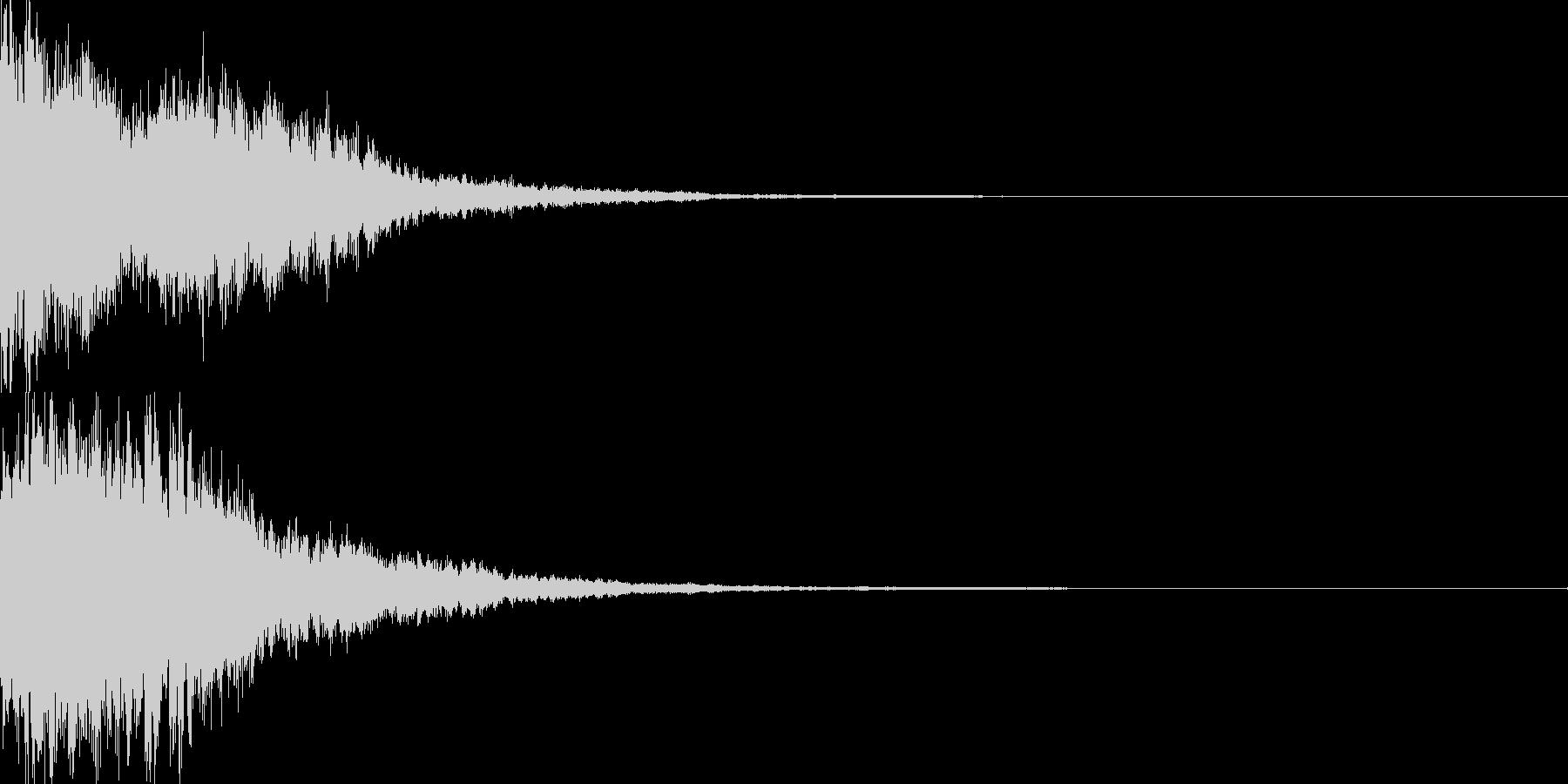 決定音57_シンセZの未再生の波形