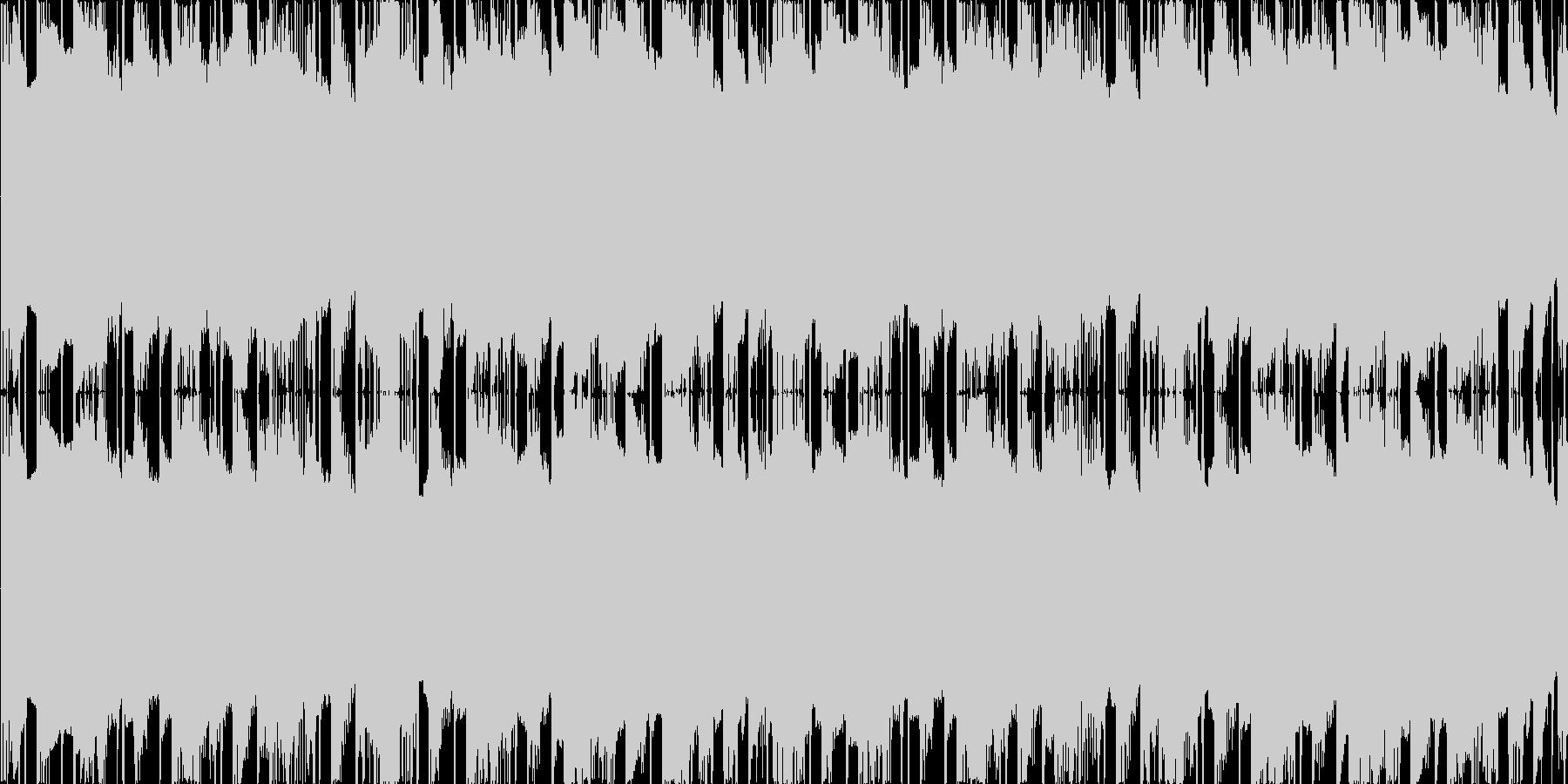 ファミコン風のダンジョン・迷路向けBGMの未再生の波形