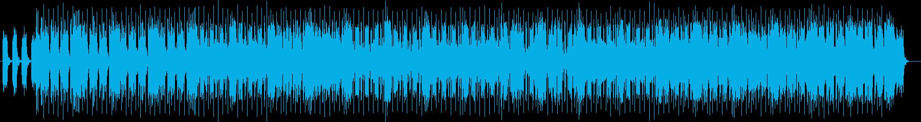 未来的なヴァリエーションミュージックの再生済みの波形