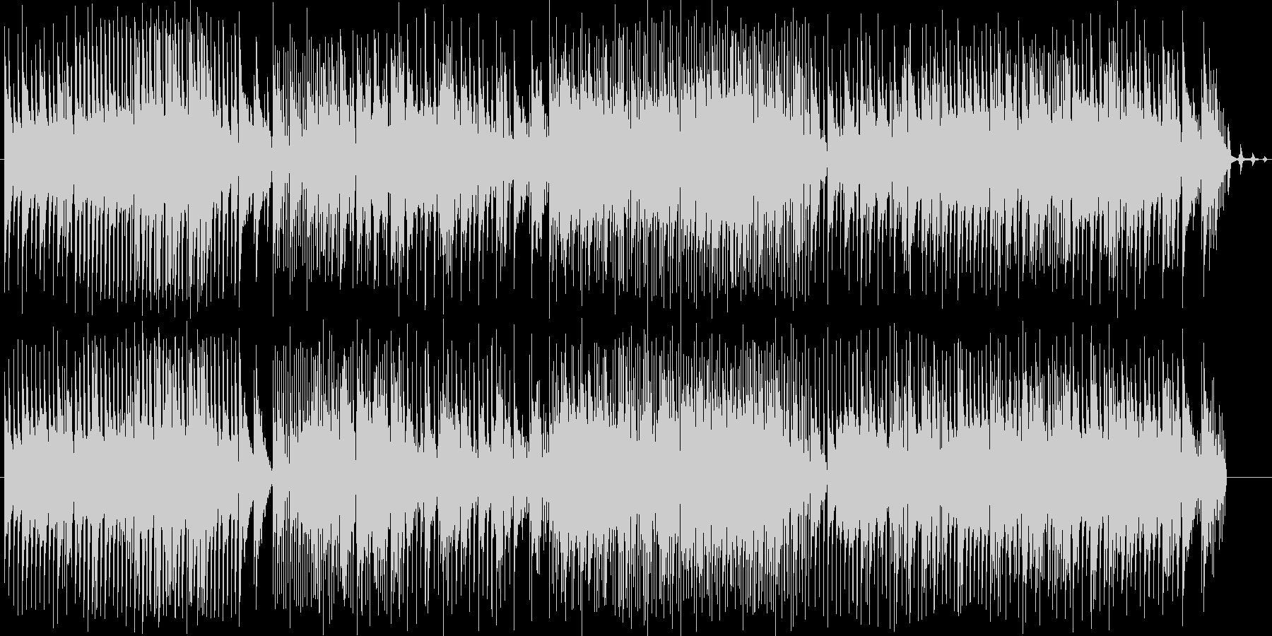 和やかで前向きなBGMを作りました。の未再生の波形