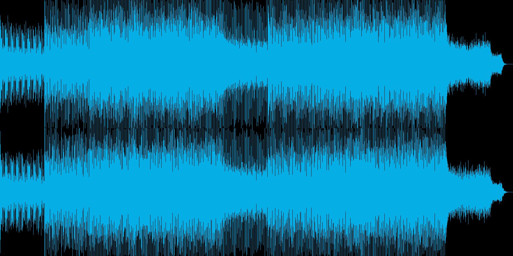 EDMクラブ系ダンスミュージック-18の再生済みの波形