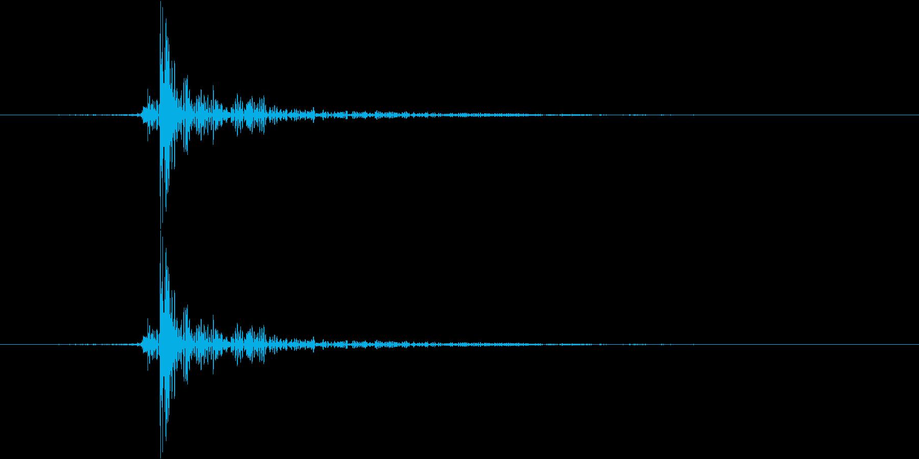 トンの再生済みの波形