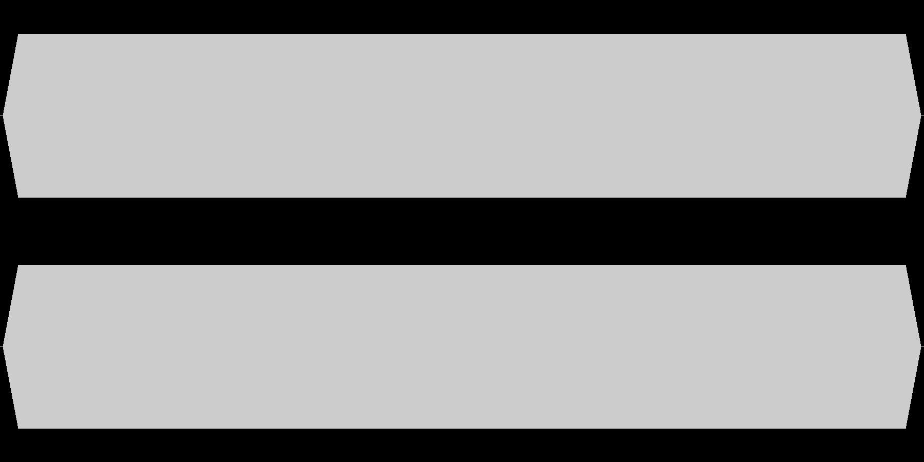 モスキート音 16.5kHzの未再生の波形