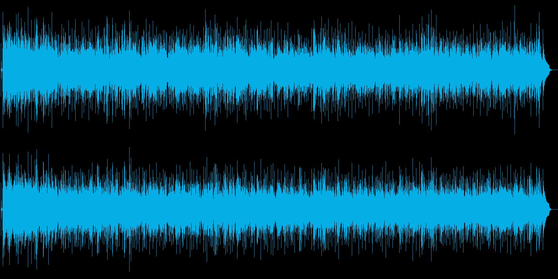 清涼感のあるアコースティック・ロックの再生済みの波形
