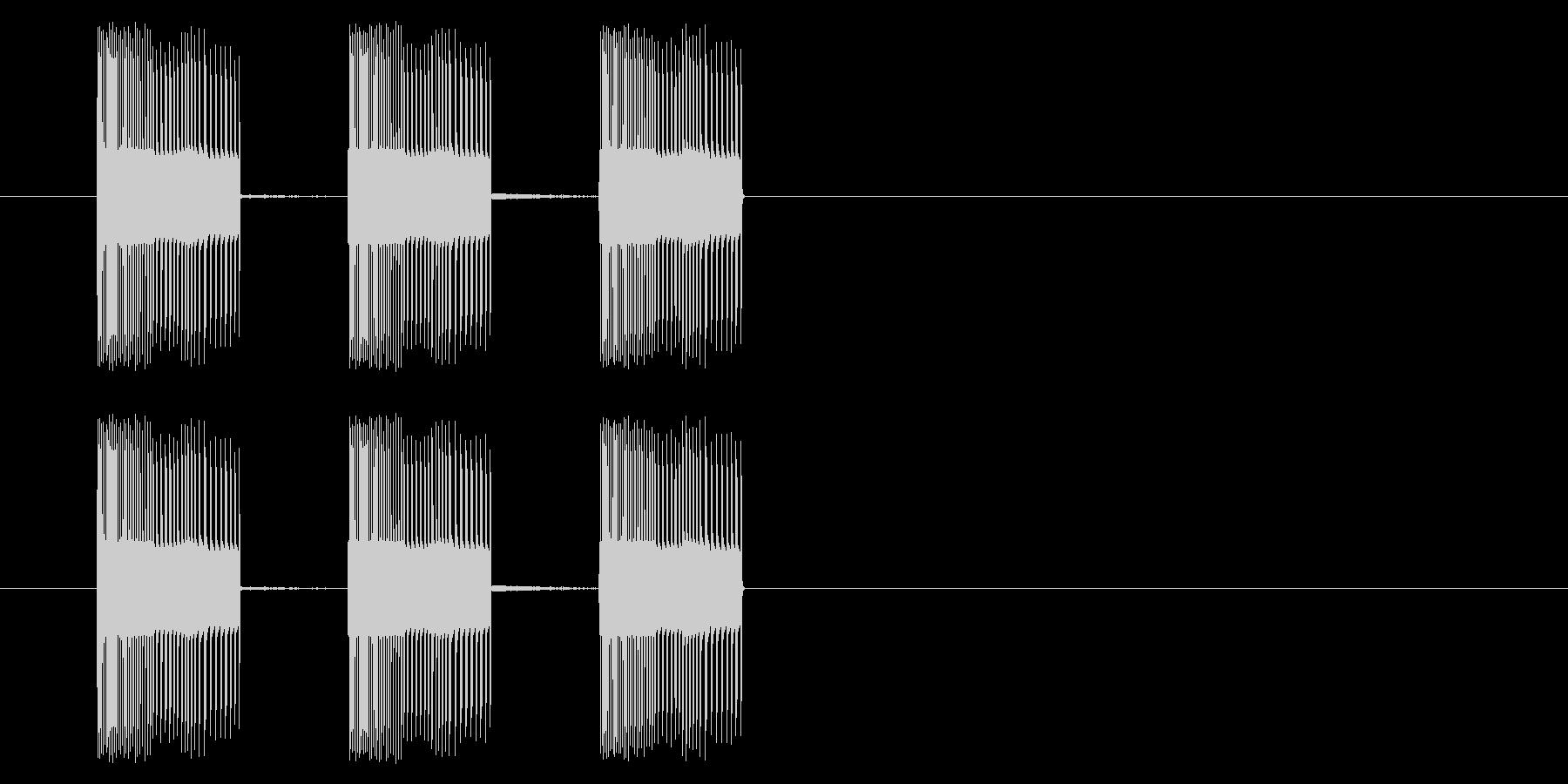 NES アクション01-14(入る)の未再生の波形