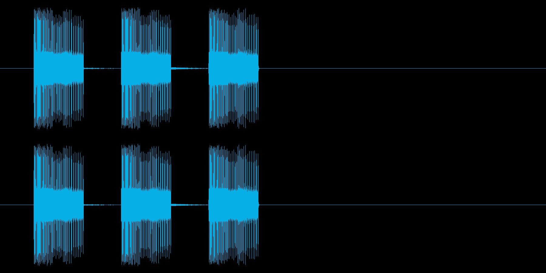 NES アクション01-14(入る)の再生済みの波形