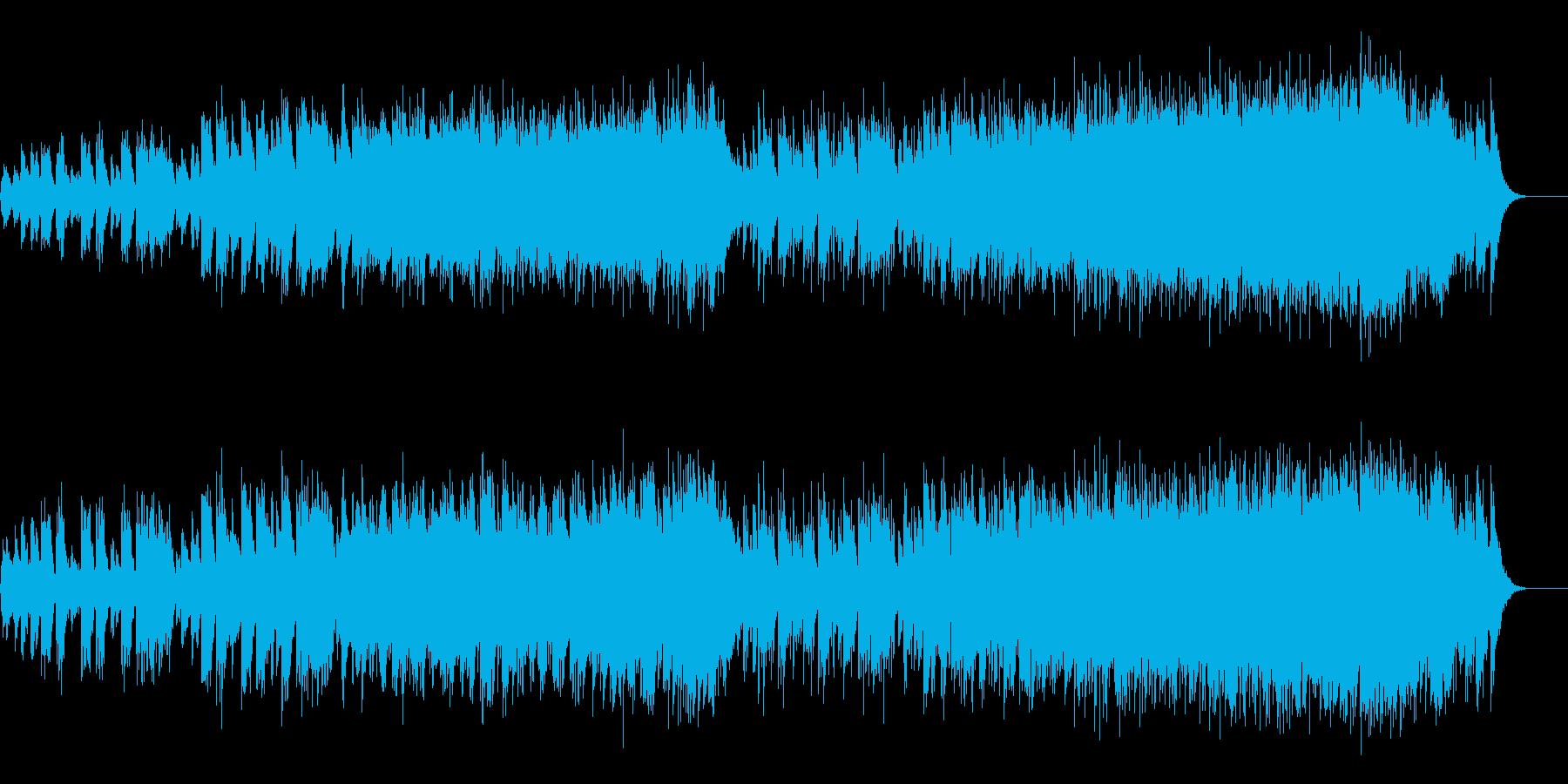センチメンタルで切ないスローバラードの再生済みの波形