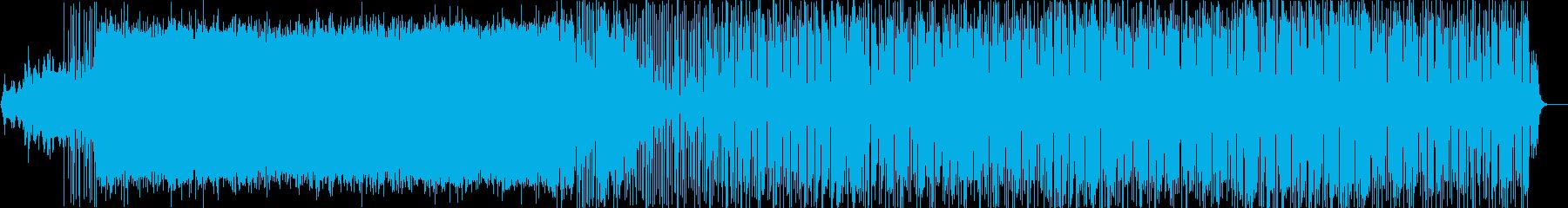 コンガやタブラで大陸的なグルーヴものの再生済みの波形