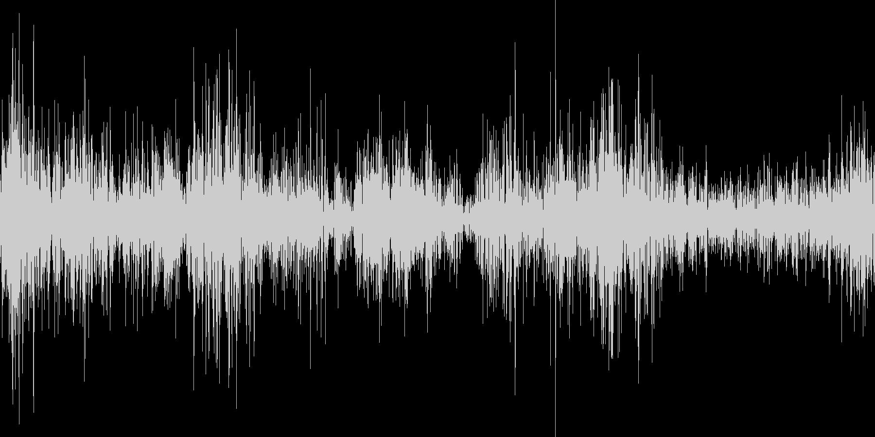 スケートの音ですの未再生の波形