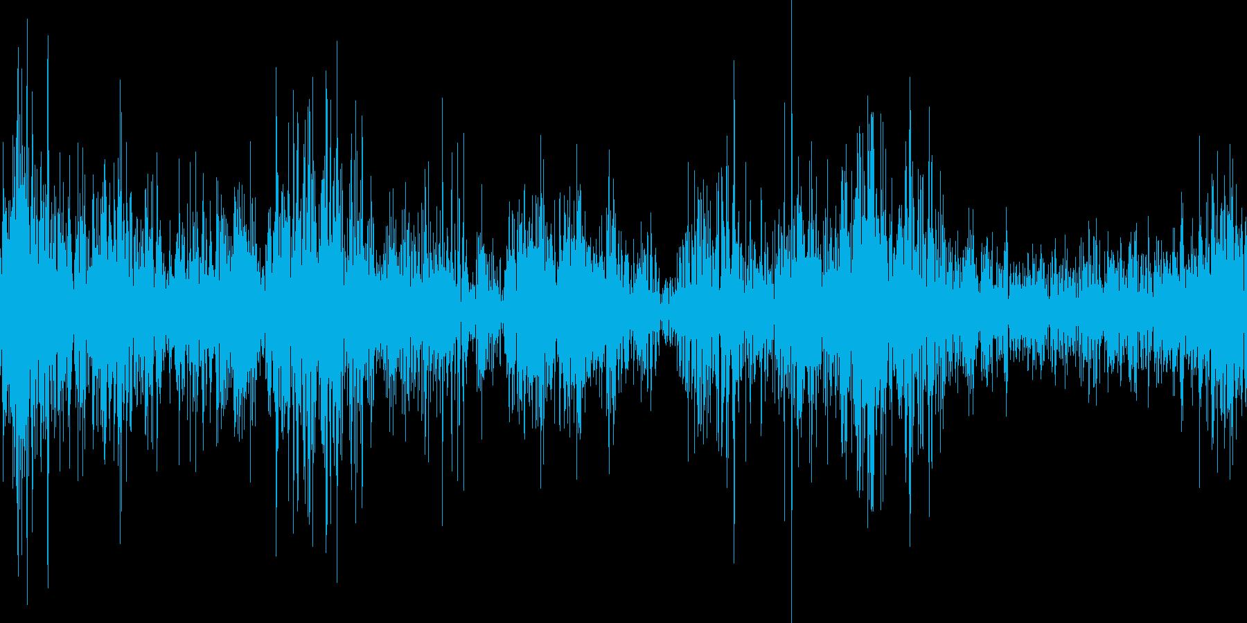 スケートの音ですの再生済みの波形