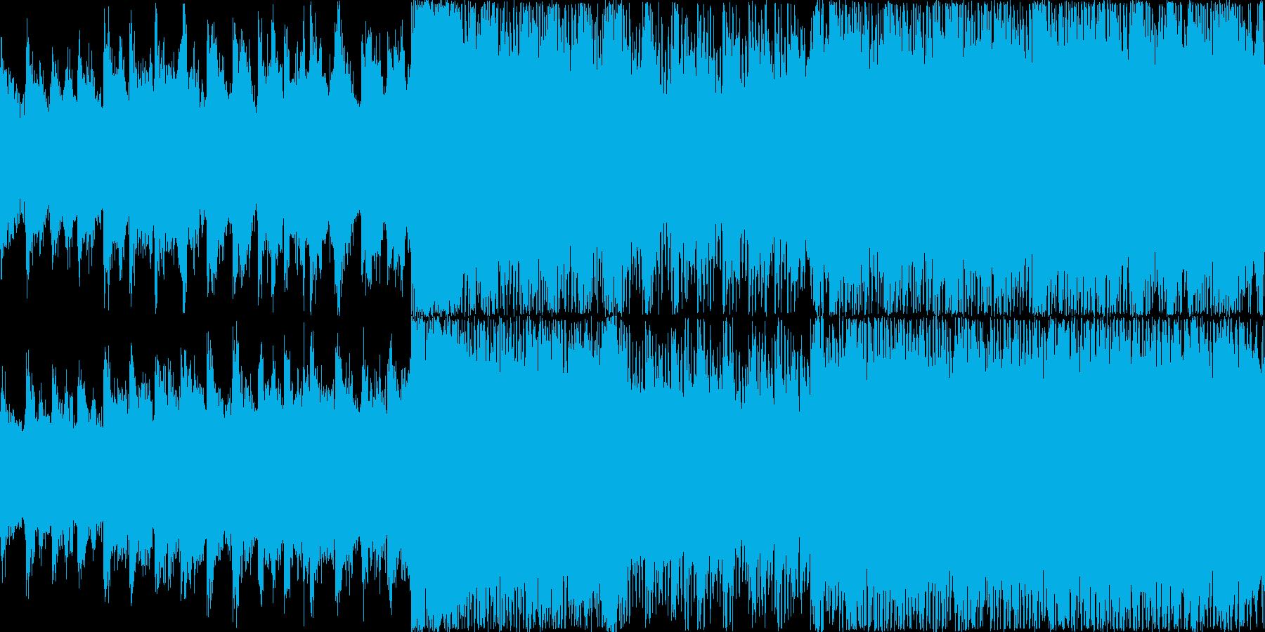 クールなトランスですの再生済みの波形