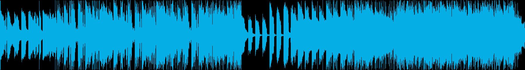 明るくポップなエレクトロBGMの再生済みの波形