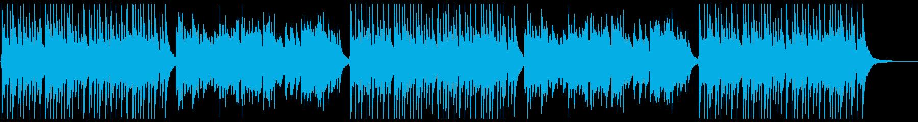 ハレの日に合う華やかで明るい和風曲の再生済みの波形