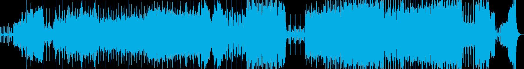 オーケストラ魔法森ハロウィンBGMRPGの再生済みの波形