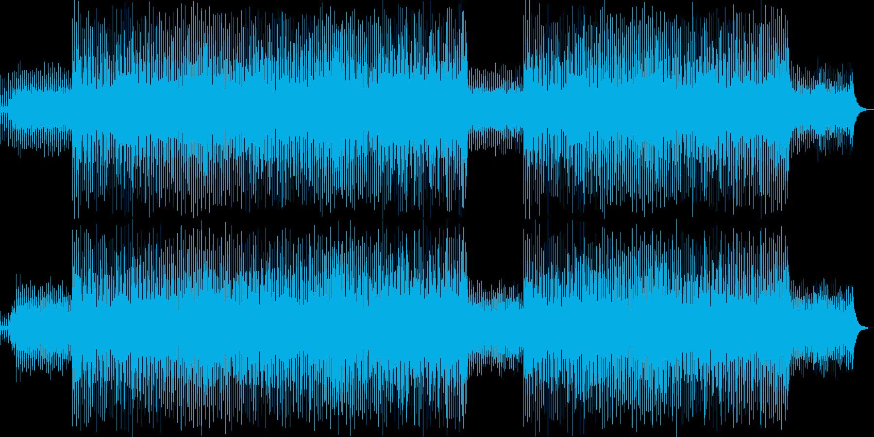 軽快で楽しいクリスマスBGMの再生済みの波形