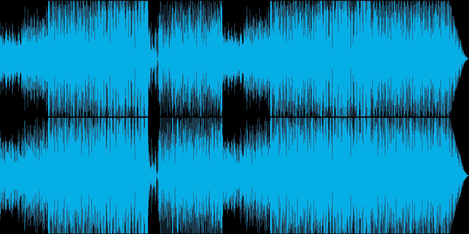 70'~80'年代のディスコ風08の再生済みの波形