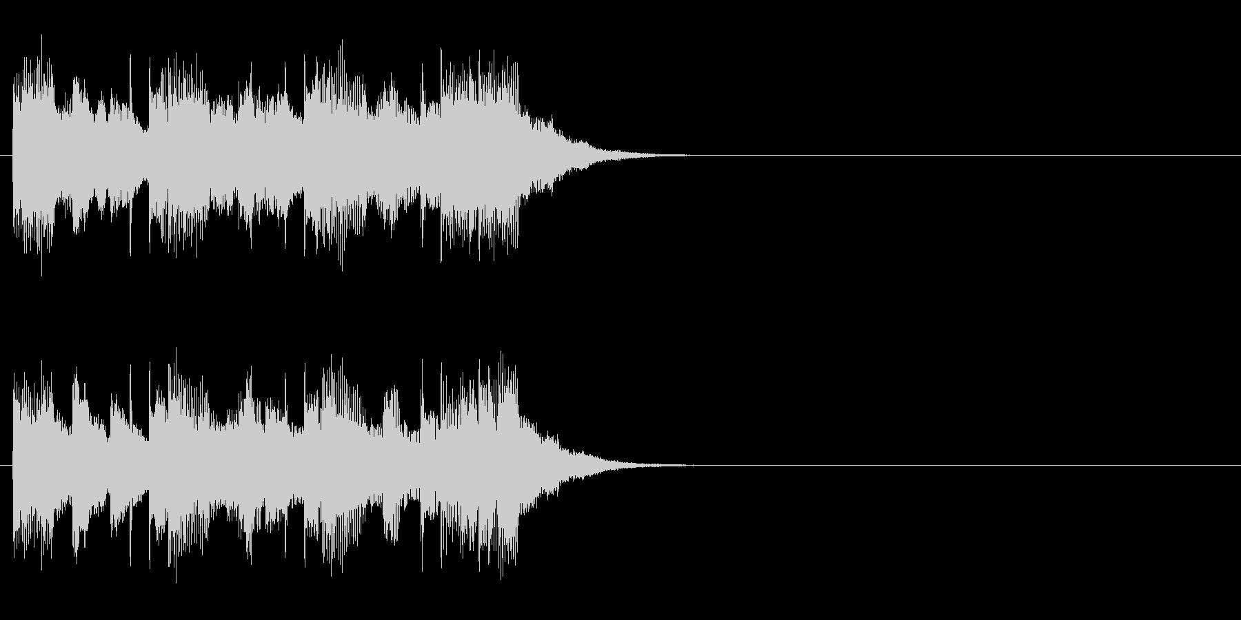 ジングル(チャイニーズ・タイプ)の未再生の波形