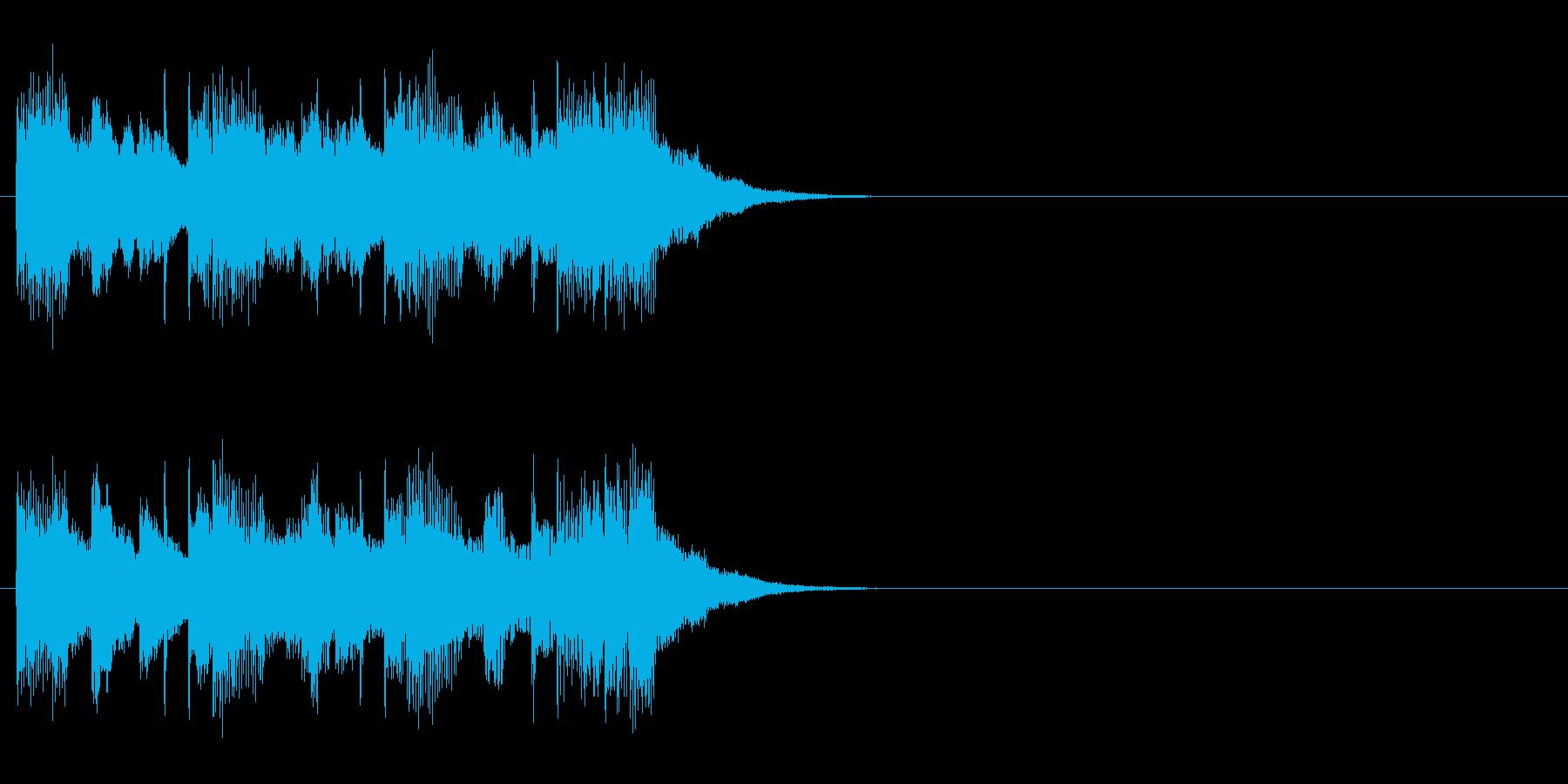ジングル(チャイニーズ・タイプ)の再生済みの波形