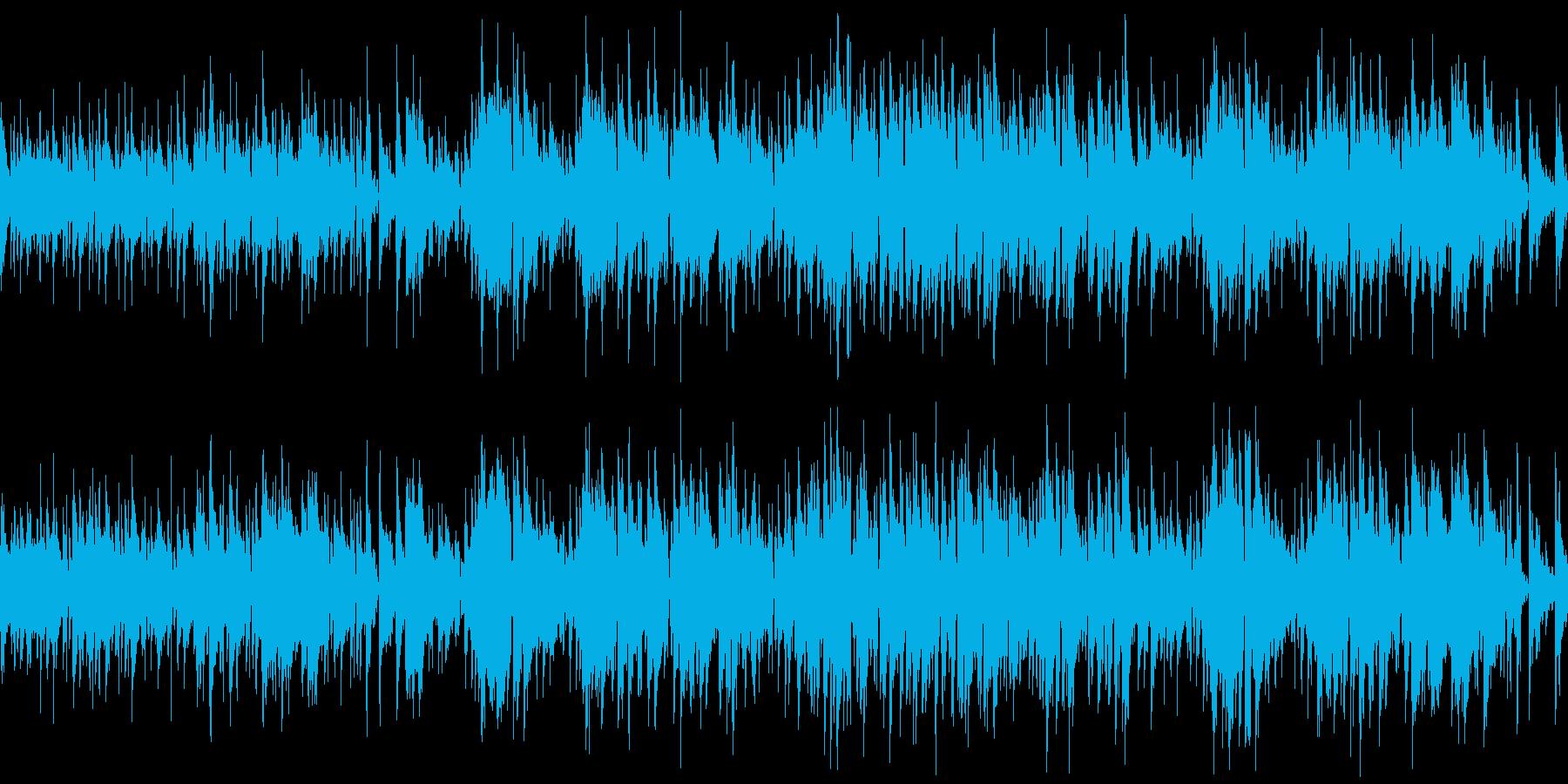 海が似合う優しいアコースティックギター曲の再生済みの波形