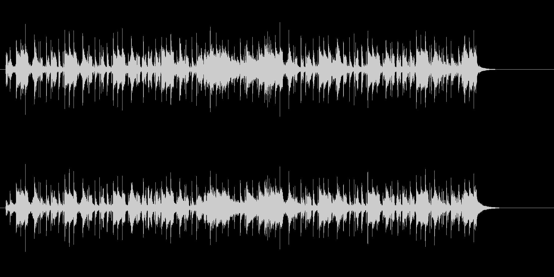 ホーンセクションが華やかなクールポップの未再生の波形