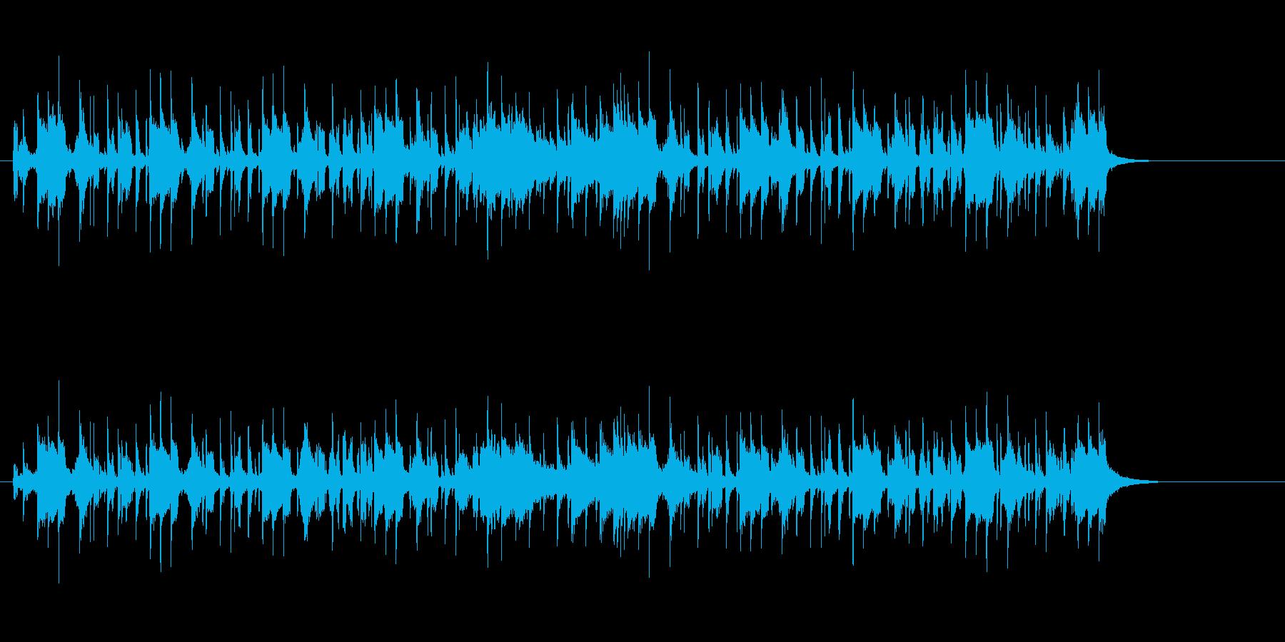 ホーンセクションが華やかなクールポップの再生済みの波形