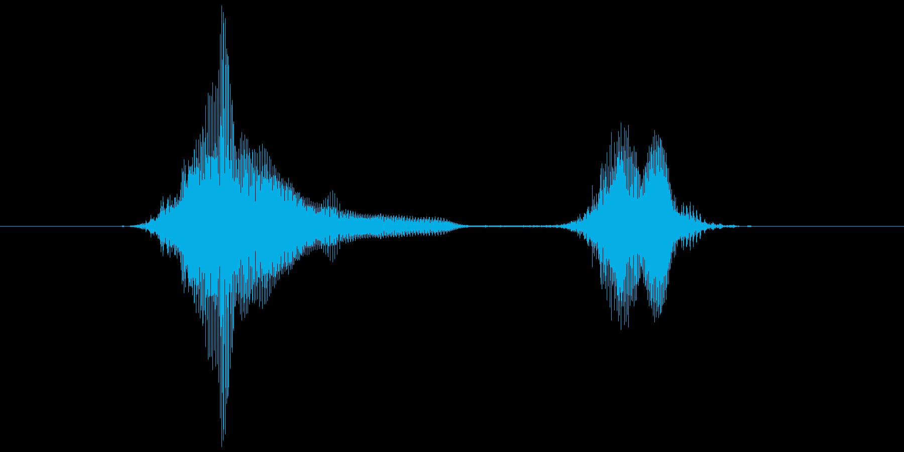 ハイ・ハイ!の再生済みの波形