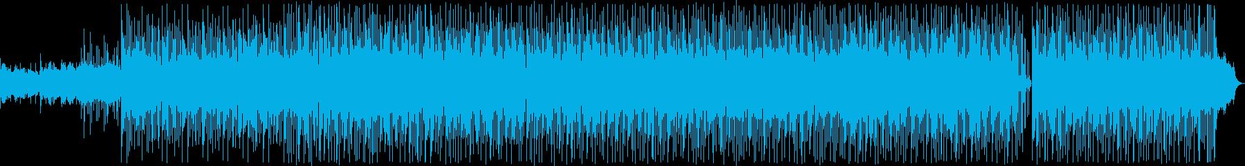 ムーディな雰囲気のジャズバラード2の再生済みの波形