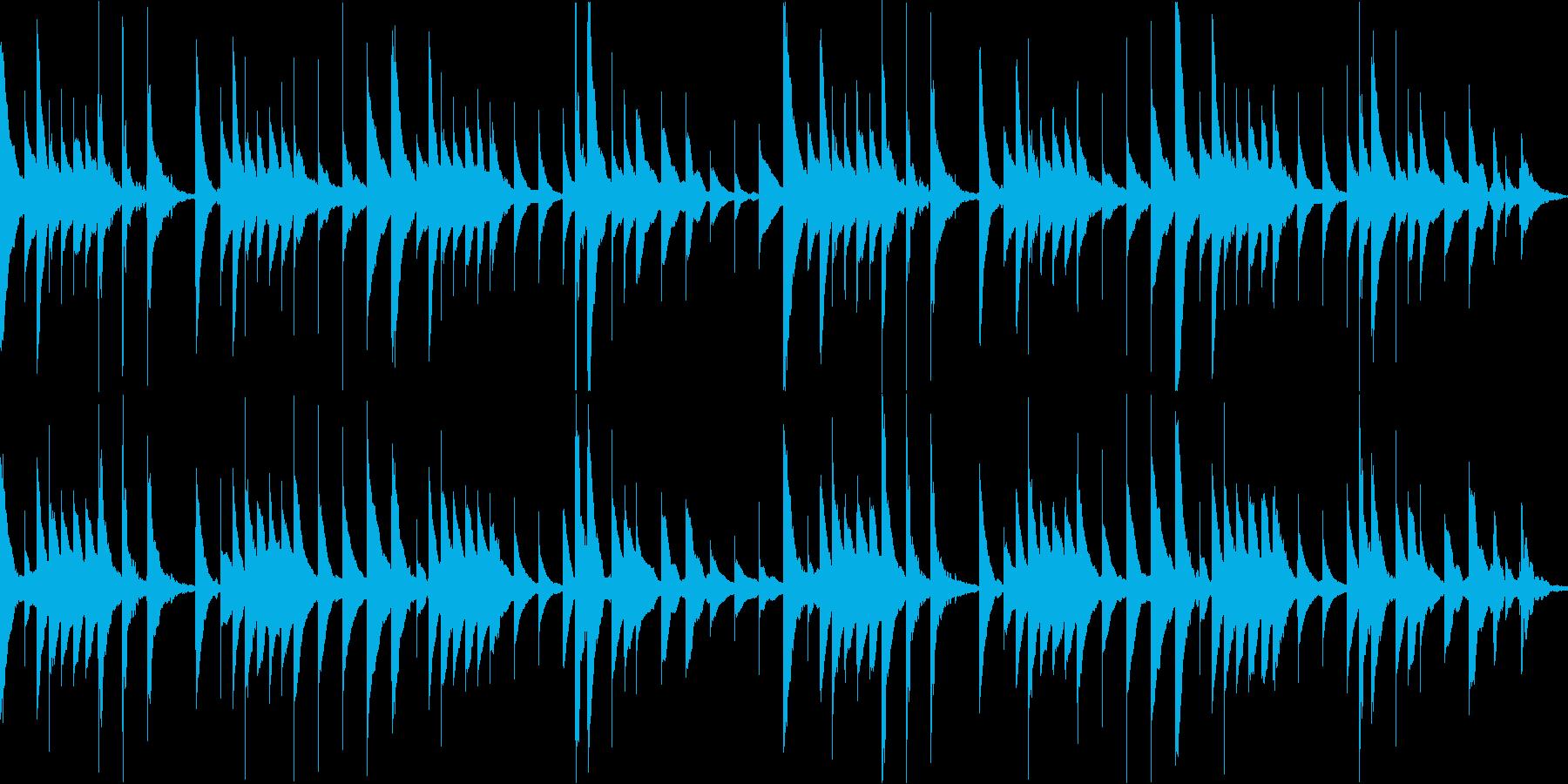 愛の挨拶のオルゴールアレンジ/ループokの再生済みの波形