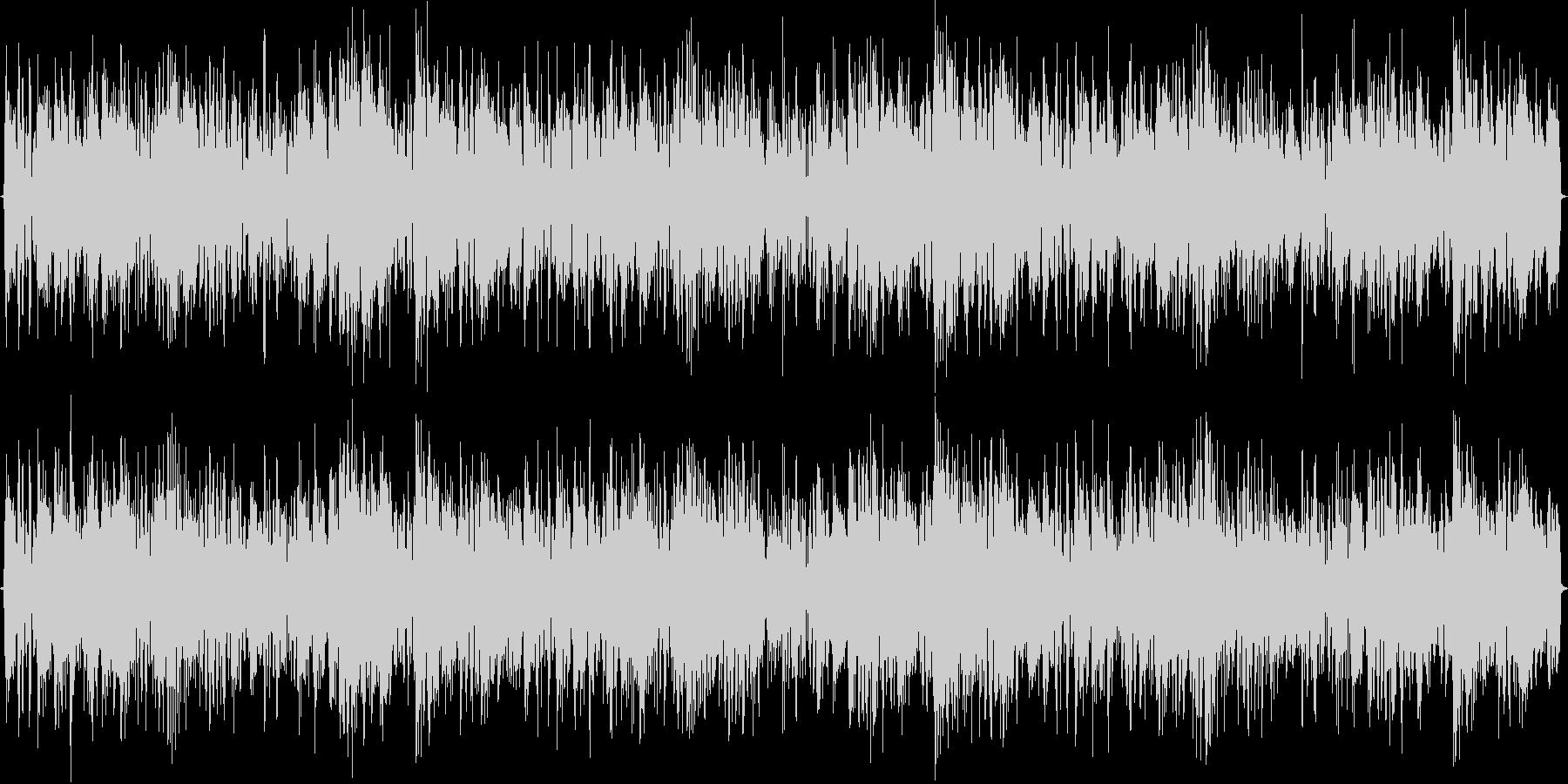 ディスコ風トランスと言う新しい曲です。の未再生の波形