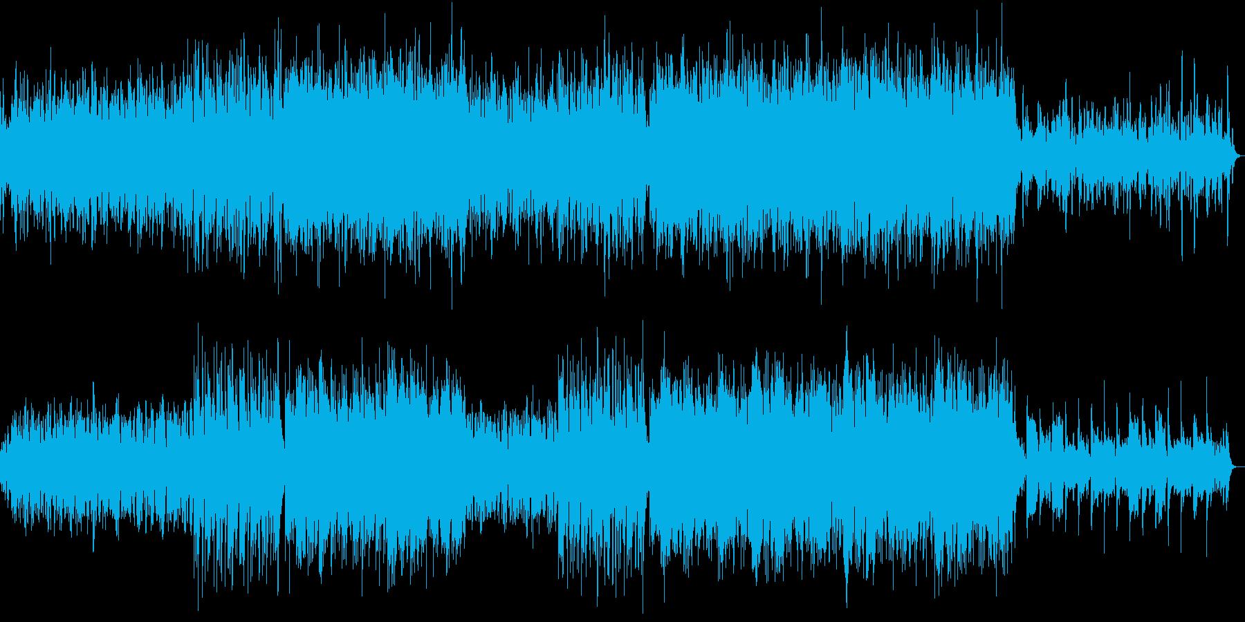 ピアノがメインのメロディアスなバラードの再生済みの波形