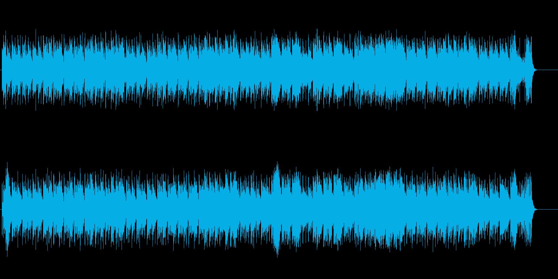 爽快なニュー・ミュージック風ポップスの再生済みの波形