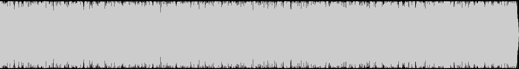 炎の音の未再生の波形