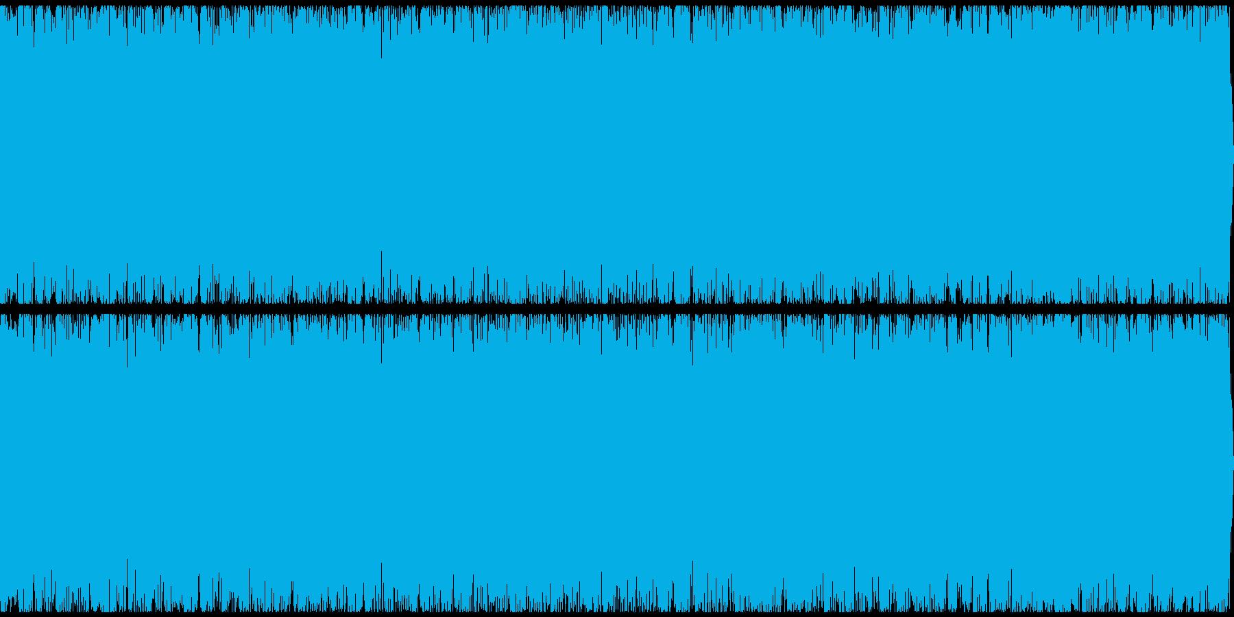 炎の音の再生済みの波形