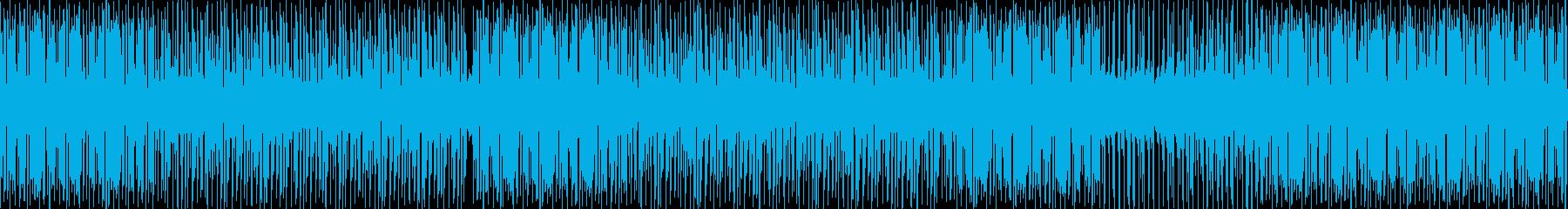バラエティー豊富なストリングスの再生済みの波形