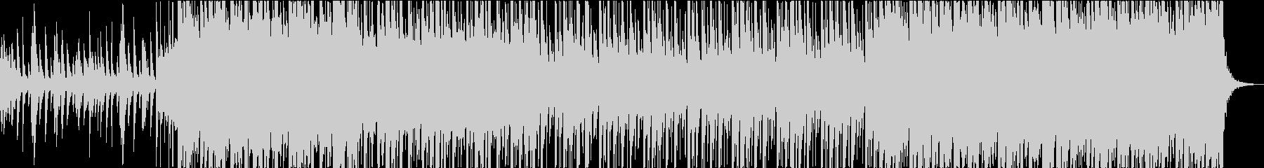 琴と尺八・しとやかで力強い和風BGMの未再生の波形