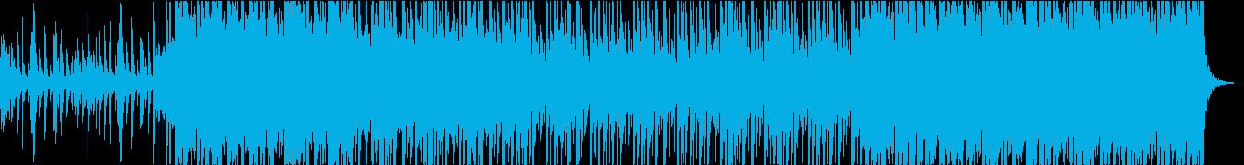 琴と尺八・しとやかで力強い和風BGMの再生済みの波形