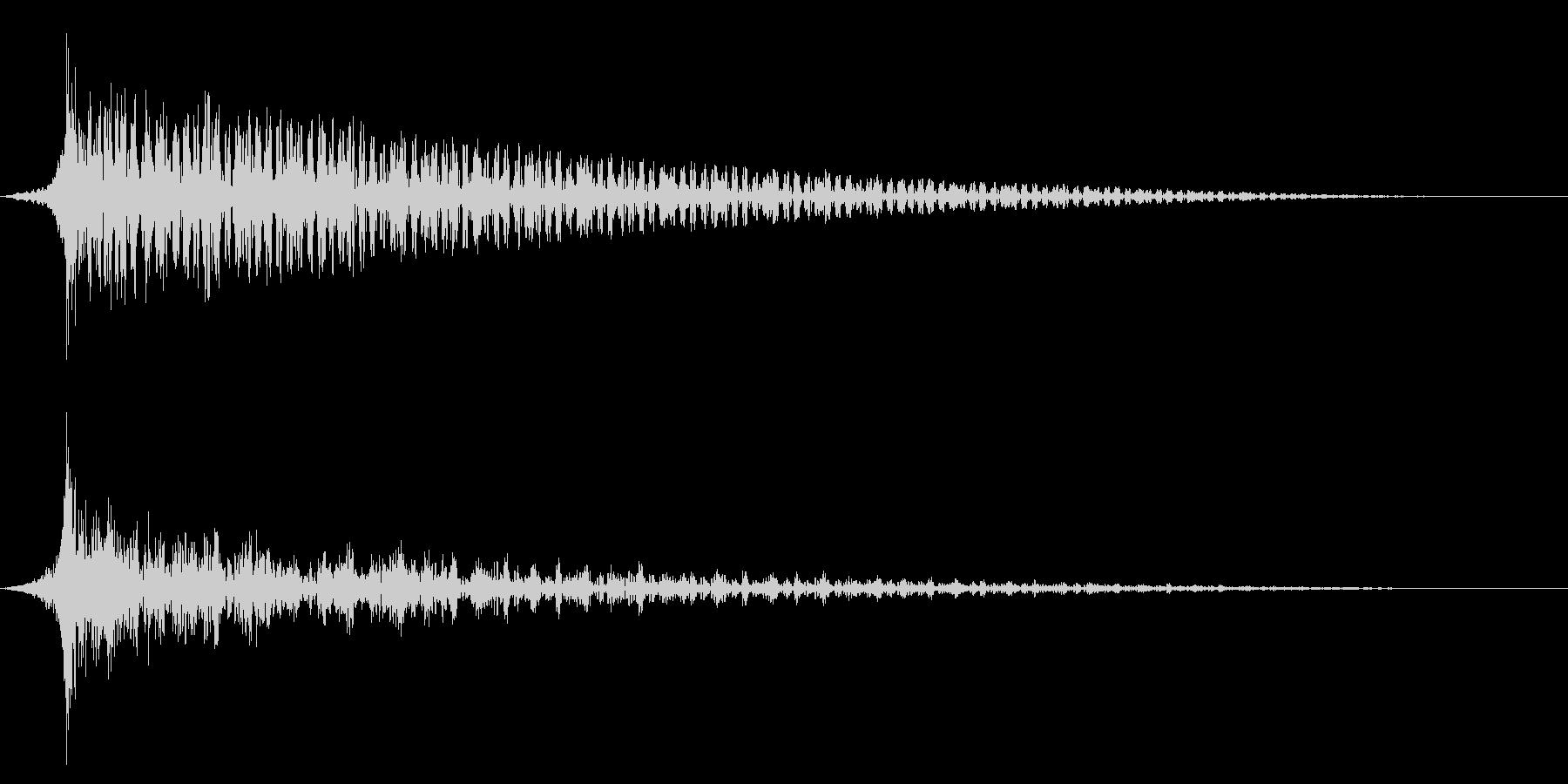 ホラー系アタック音89の未再生の波形