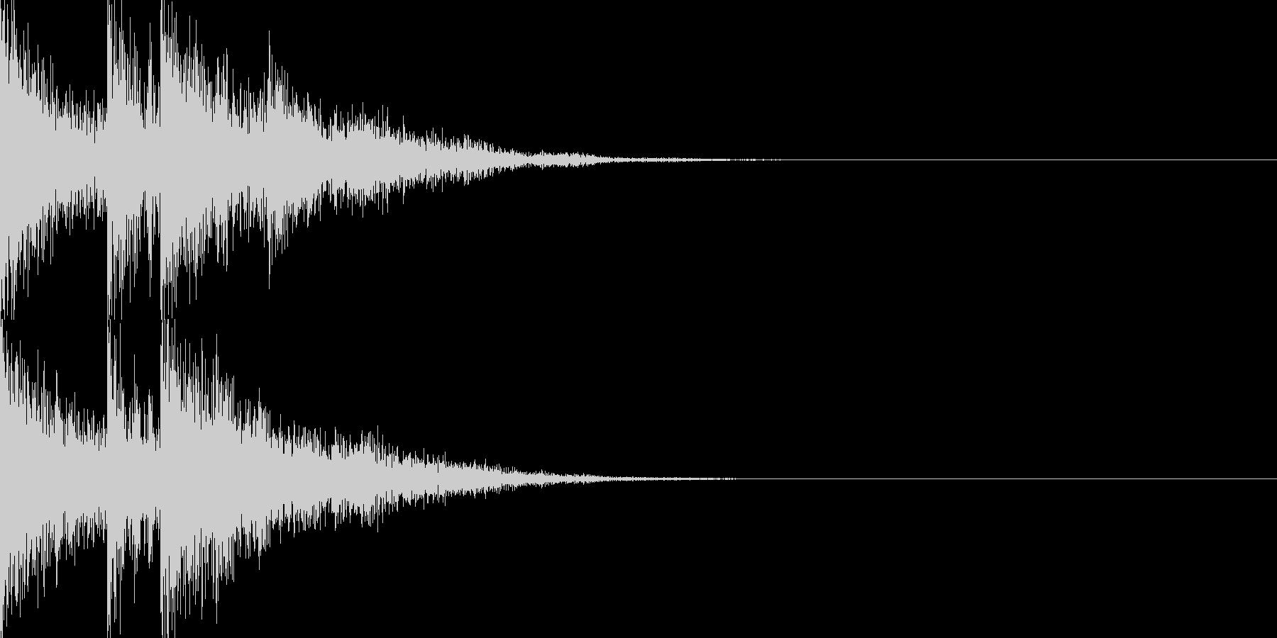 交代音02の未再生の波形