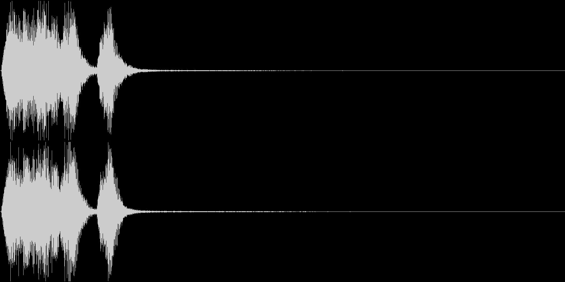 トランペット ファンファーレ 定番 24の未再生の波形