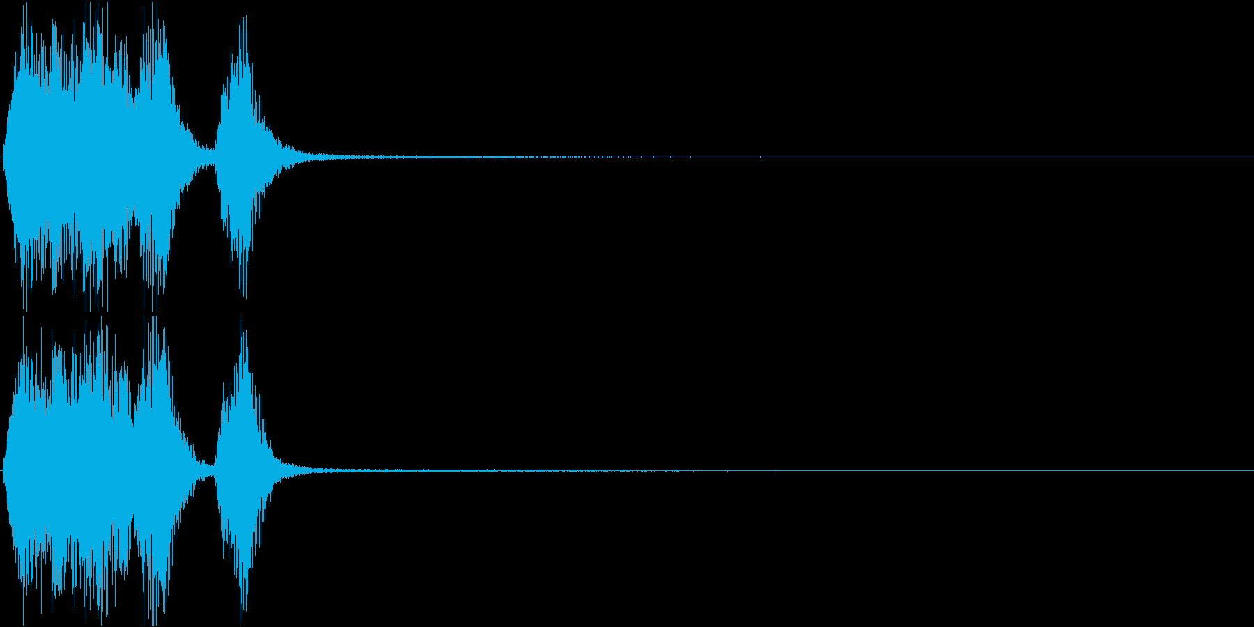 トランペット ファンファーレ 定番 24の再生済みの波形