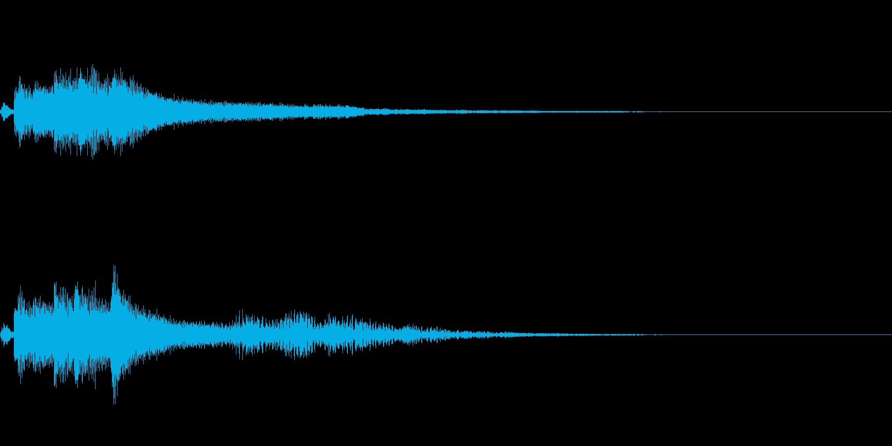 【ロゴ、ジングル】ピアノ04の再生済みの波形