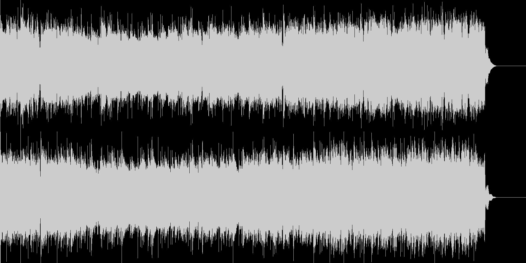 アップテンポな楽曲です。特に使用制限も…の未再生の波形