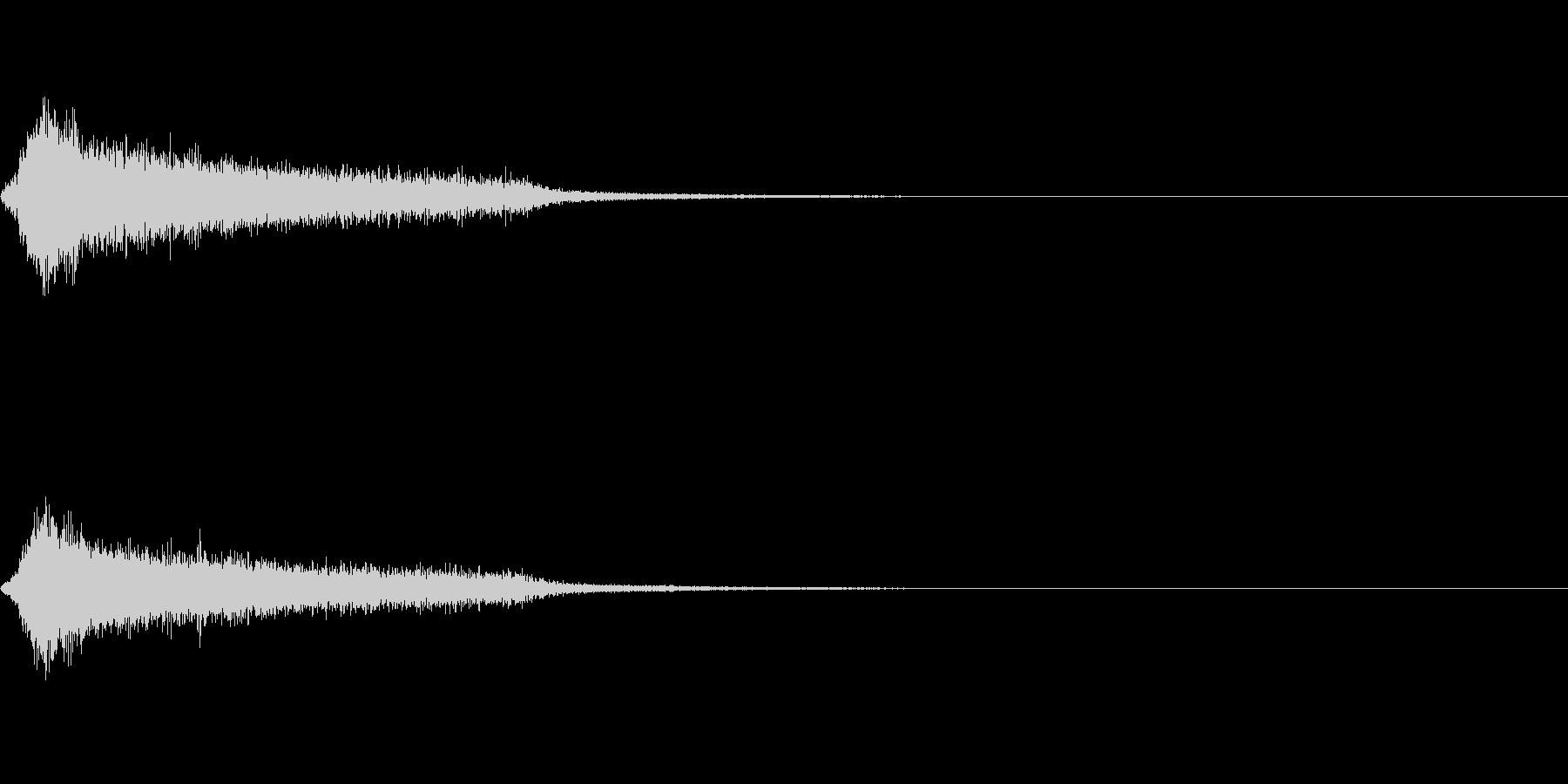 効果音 ホラー その4の未再生の波形