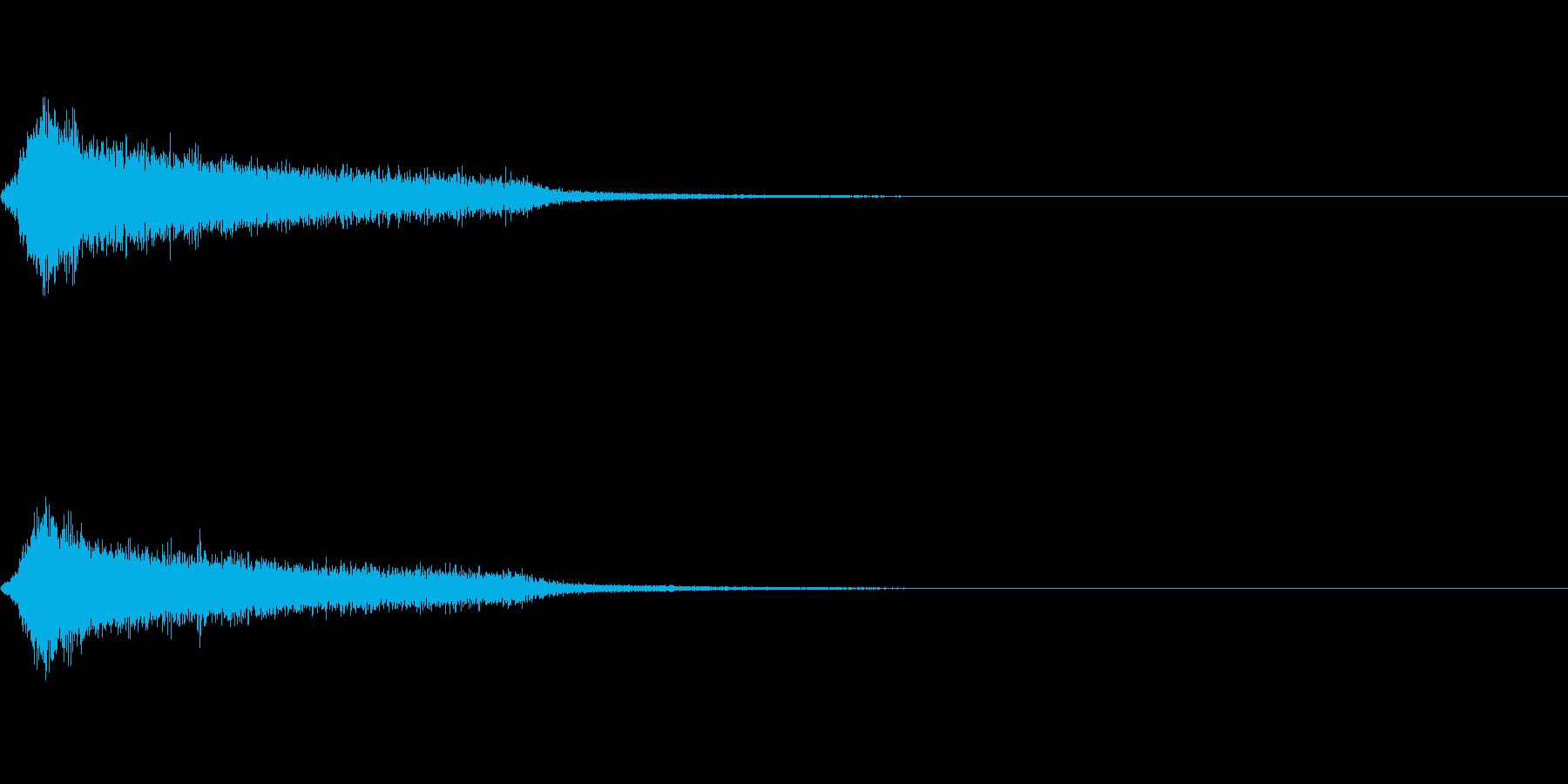 効果音 ホラー その4の再生済みの波形