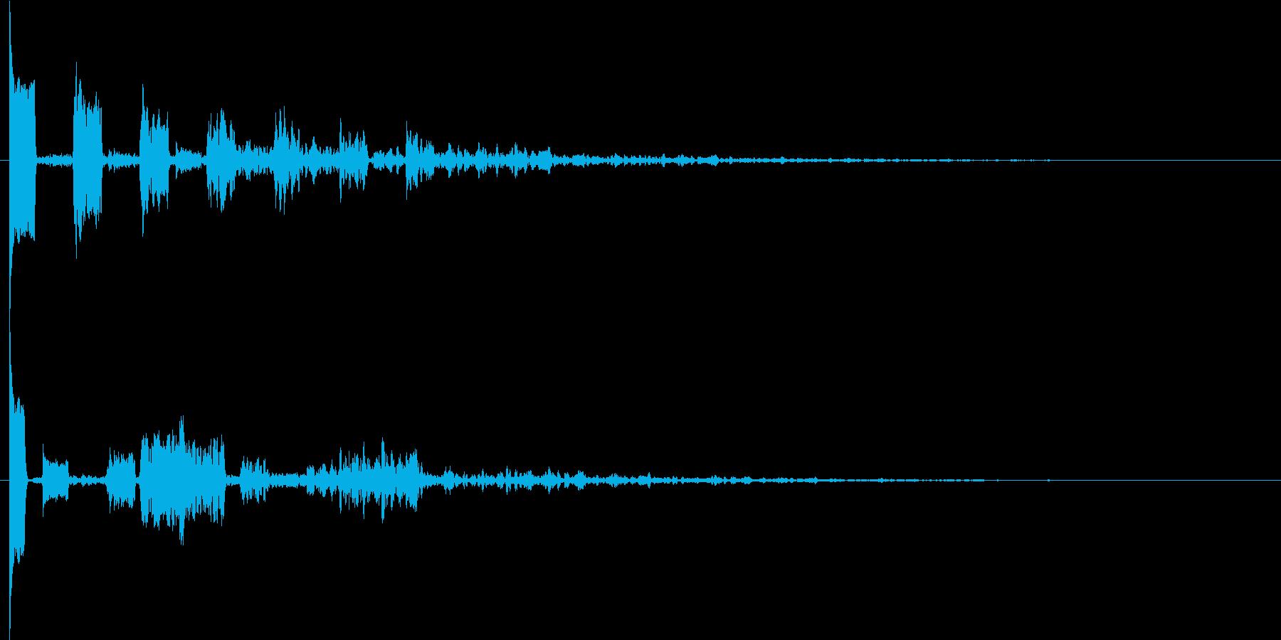 ピキコンクォン (閃き、違和感に気付く)の再生済みの波形